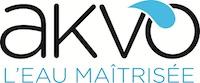 Logo AKVO l'eau maitrisée 650x271