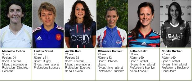 sport feminin 24h composition